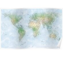 World City Map Poster