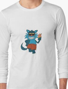 Summer Cheshire Cat Long Sleeve T-Shirt