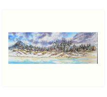 White Sands - east Coast Tasmania Art Print