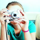Retro Coloured Tographer Girl :D by KwestionMark