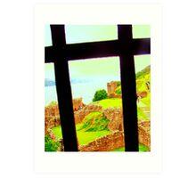 Crossview to Ness Art Print