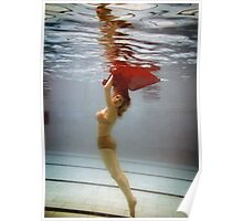 underwater beauty Poster