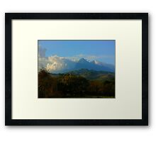 Guate View Framed Print