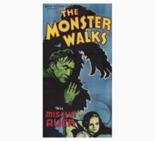 The Monster Walks by Jenn Kellar