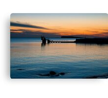 sunset.. blackrock, salthill Canvas Print