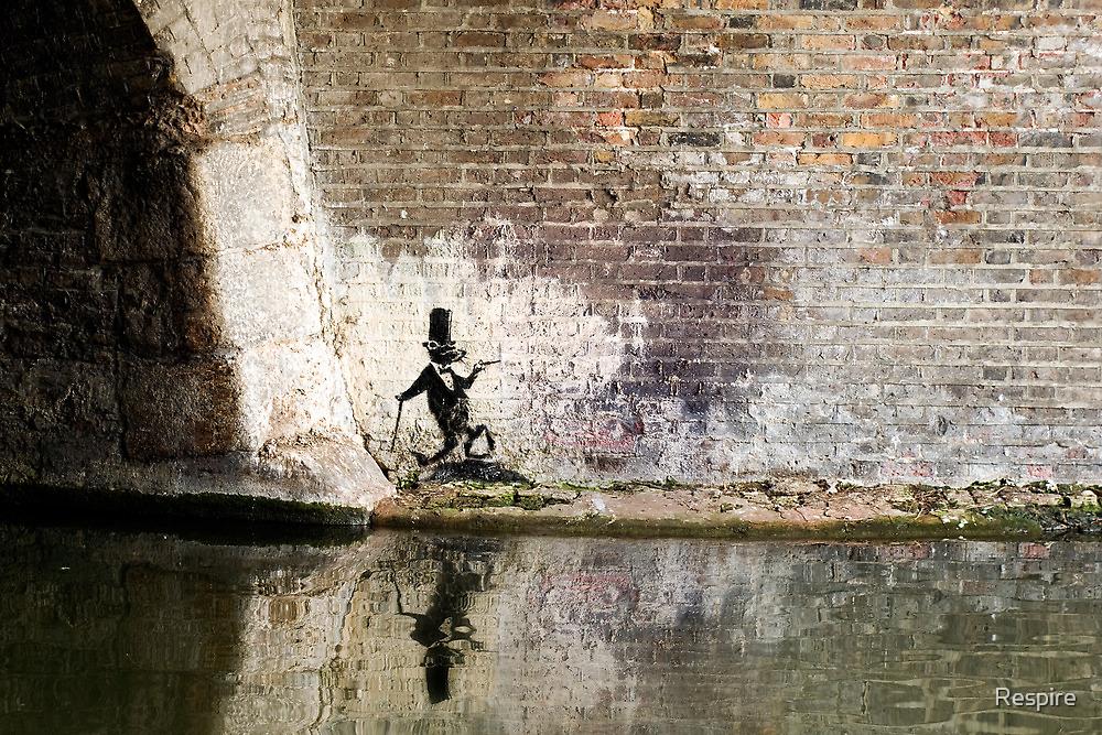Banksy AristoRat by Respire