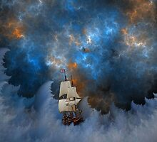 Storm On The Sea by James Brotherton