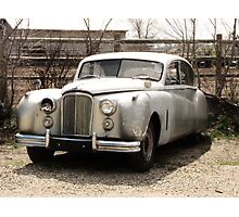 In The Beginning..1953 Jaguar mark7 Saloon Photographic Print