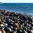 Lake Superior Rocks 2 - Marathon Ontario Canada by loralea