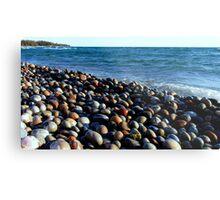 Lake Superior Rocks 2 - Marathon Ontario Canada Metal Print