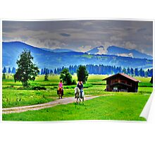 Countryside HDR Poster