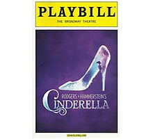 Cinderella Playbill Photographic Print