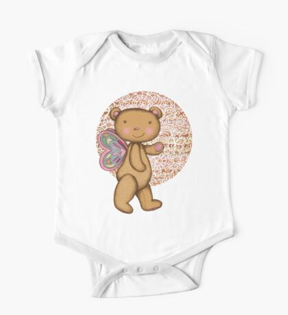 Love Bear One Piece - Short Sleeve