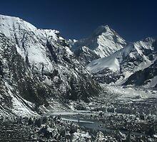 Inylchek glacier, central Tien-Shan, Kyrgyzstan by Michal Cerny