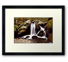 Sages Ravine Framed Print