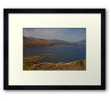 Derwent Water. Framed Print