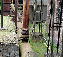 Old Piping Works at Lady Victoria Mining Museum by AmandaJanePhoto