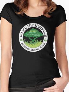 Roger the Shrubber Women's Fitted Scoop T-Shirt
