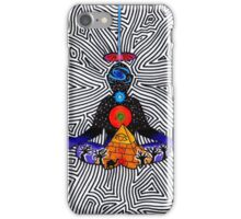 Psychedelic meditiation  iPhone Case/Skin