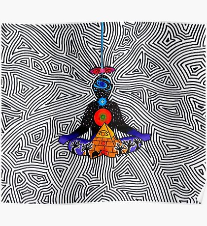 Psychedelic meditiation  Poster