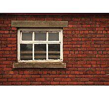Farm Window Photographic Print