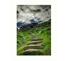 The Steps Art Print
