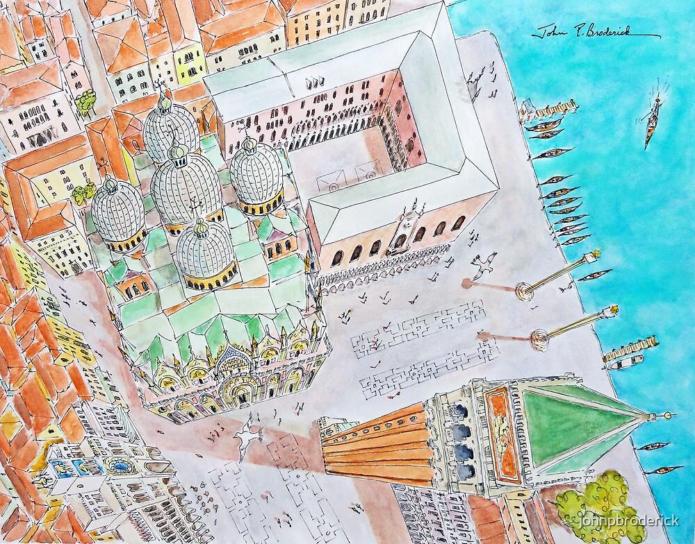 St. Mark's Square, Venice Italy by johnpbroderick