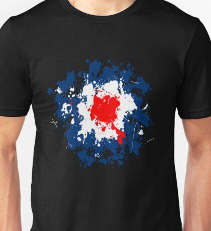 Mod Target Splatter! Unisex T-Shirt