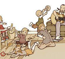 My Childhood by MissIllustrator