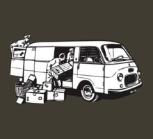 Loading the Fiat Van 1100 T by redwoodkiwi