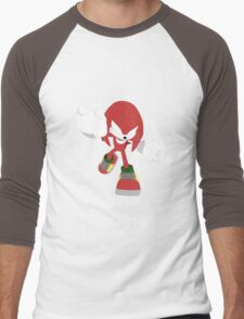 Knuckles the Echidna Men's Baseball ¾ T-Shirt