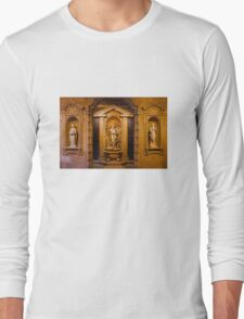 Reliefs from the Renaissance period in Milan, ITALY Long Sleeve T-Shirt
