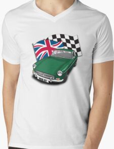 MGB-GT Mens V-Neck T-Shirt