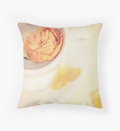 A cup of sweetness Throw Pillow