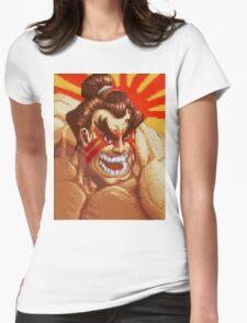 E. Honda Womens Fitted T-Shirt