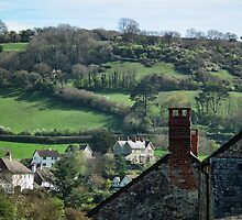 Branscombe Village by lynn carter