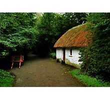 thatched cottage.. Photographic Print