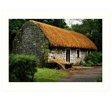 irish cottage.. Art Print