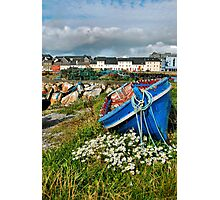 claddagh boats.. Photographic Print