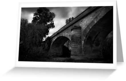Old stone bridge  by Christine Whalley