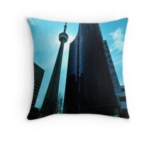 CN Tower Throw Pillow