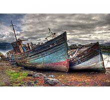 Salen ship wrecks Photographic Print