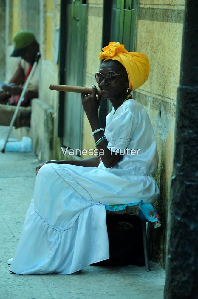 Cuban Lady by Vanessa Truter