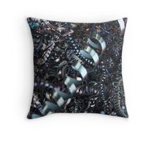 Abstract Industrial Background Throw Pillow