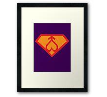 Super Sailor Mars Framed Print