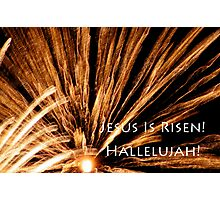 fireworks easter card Photographic Print