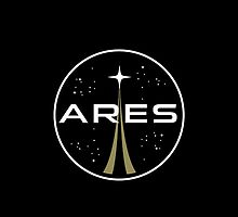 Ares mission to Mars logo - The Martian by hopography