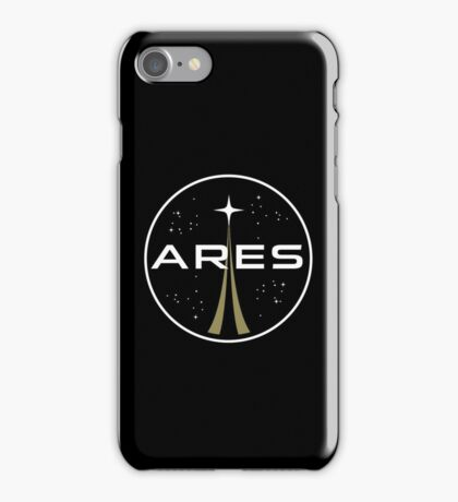 Ares mission to Mars logo - The Martian iPhone Case/Skin