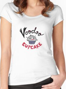 Voodoo Cupcake Women's Fitted Scoop T-Shirt