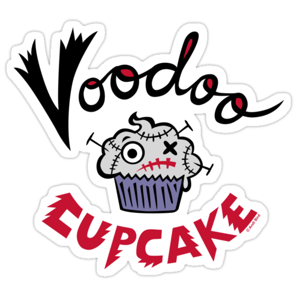 Voodoo Cupcake by Andi Bird
